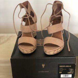 Roberta Ghillie  Wedge Sandal